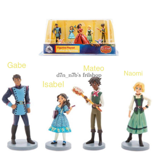 ディズニー(Disney)の『アバローのプリンセス エレナ』フィギュア4種(キャラクターグッズ)
