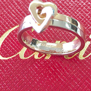 カルティエ(Cartier)のカルティエ二色ハートリング#45(リング(指輪))