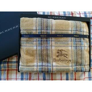 バーバリー(BURBERRY)のバーバリー❤タオルケット(タオルケット)
