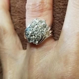 ホワイトゴールドダイヤ1、56ダイヤリング(リング(指輪))
