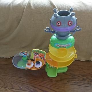 アンパンマン(アンパンマン)のアンパンマンとだだんだん お風呂スライダー 子供おもちゃ(お風呂のおもちゃ)
