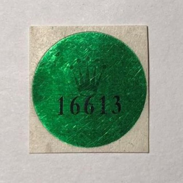 ROLEX - 社外品補修用 Ref.16613 ホログラムシールの通販 by ディライトさん's shop|ロレックスならラクマ