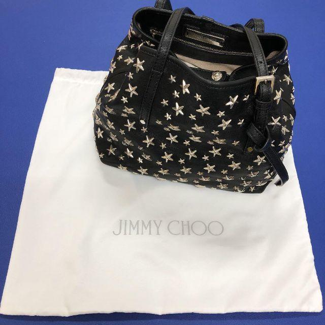 JIMMY CHOO(ジミーチュウ)のジミーチュウ トートバッグ スタースタッズ エンボス レディースのバッグ(トートバッグ)の商品写真