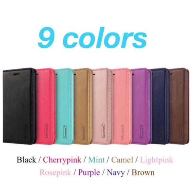 iphone7 ケース レインボー | (人気商品) iPhone ケース 手帳型  (9色)の通販 by プーさん☆|ラクマ