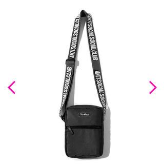 アンチ(ANTI)のASSC Black Side Bag(ショルダーバッグ)