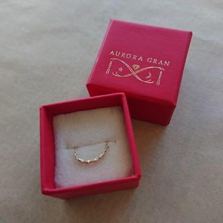 AURORA GRAN - AURORAGRAN オーロラグラン ポリーリングコンビ ゴールド チェーン