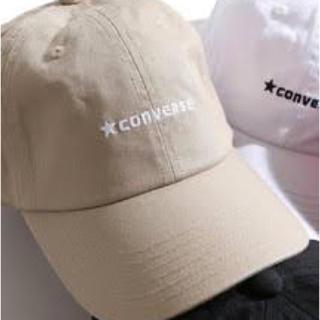 コンバース(CONVERSE)のコンバース キャップ ベージュ(キャップ)
