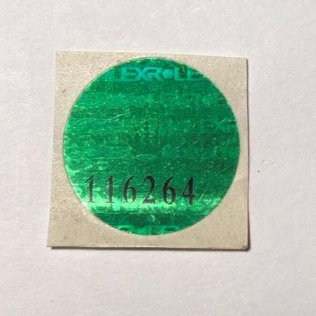 ROLEX - 社外品補修用 Ref.116264 ホログラムシールの通販 by ディライトさん's shop|ロレックスならラクマ