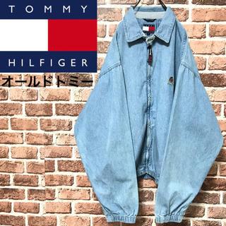 トミーヒルフィガー(TOMMY HILFIGER)の【激レア】トミーヒルフィガー入手困難90s最高の色落ちビッグサイズスイングトップ(ブルゾン)