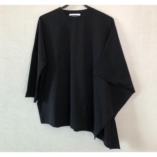 エンフォルド(ENFOLD)の新品 19SS ENFOLD エンフォルド アシンメトリーTシャツ(Tシャツ(長袖/七分))