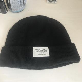 ワコマリア(WACKO MARIA)のワコマリア ニットキャップ ブラック(ニット帽/ビーニー)