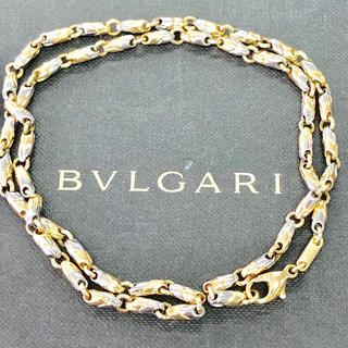 ブルガリ(BVLGARI)のブルガリ ネックレス パッソドッピオ SS/K18YG(ネックレス)