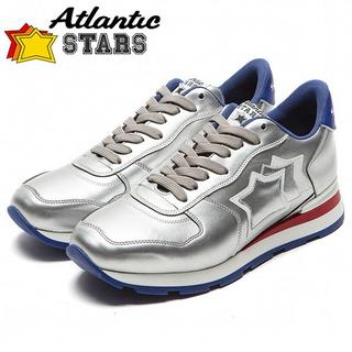 専用128 Atlantic STARS シルバー スニーカーsize41(スニーカー)