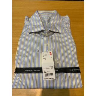 ユニクロ(UNIQLO)の新品未使用 UNIQLO ストライプシャツ(シャツ)