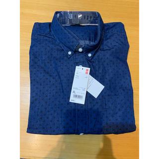 ユニクロ(UNIQLO)の新品未使用 ユニクロ デニムプリントシャツ(シャツ)