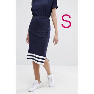 アディダス(adidas)のアディダスオリジナルス タイトスカート adidas originals S(ロングスカート)