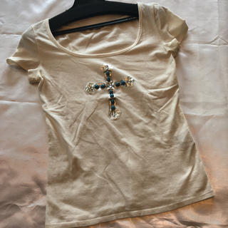 ピンキーアンドダイアン(Pinky&Dianne)の◆Pinky&Dianne◆ターコイズクロスTシャツ◆(Tシャツ(半袖/袖なし))