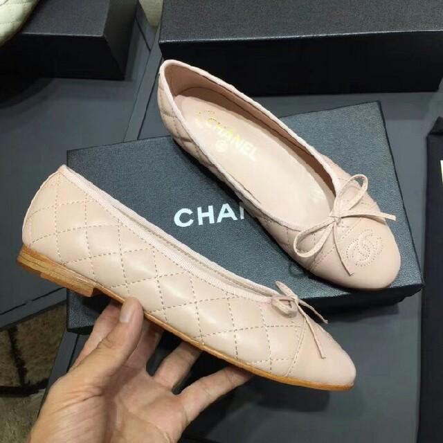 7ea785dc15d5 CHANEL(シャネル)の大人気CHANELシャネル バレエシューズ フラットシューズ 22.0 レディースの靴