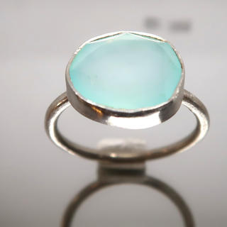 天然石ブルーカルセドニー リング(リング(指輪))