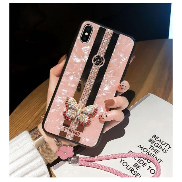 ysl iphone7 ケース xperia - iPhone6/7/8/plus/X/XR/XS/XsMAX 蝶柄 華奢 可愛いの通販 by Freely 's shop|ラクマ