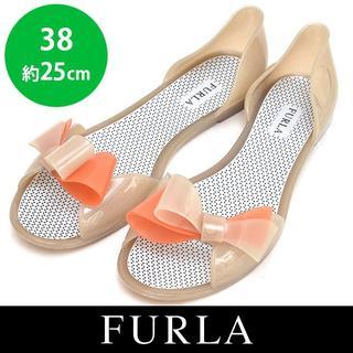 2d2422524205 ハイヒール/パンプス · フルラ パンプス オレンジ. ¥2,500. フルラ(Furla)の新品❤ フルラ ラバー リボン フラットサンダル 38(約
