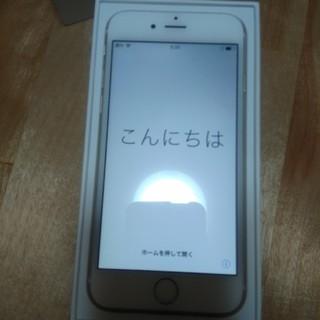 アップル(Apple)のiPhone6 (携帯電話本体)