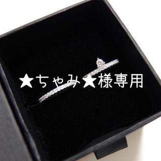 マークミレン リング IDA RING & EBBA WHITE RING(リング(指輪))