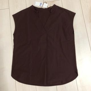ジーユー(GU)の半袖 スキッパーシャツ(シャツ/ブラウス(半袖/袖なし))