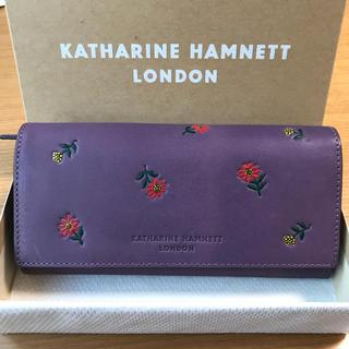 39f7c138d224 キャサリンハムネット(KATHARINE HAMNETT)の未使用 キャサリンハムネット 長財布 マーガレット
