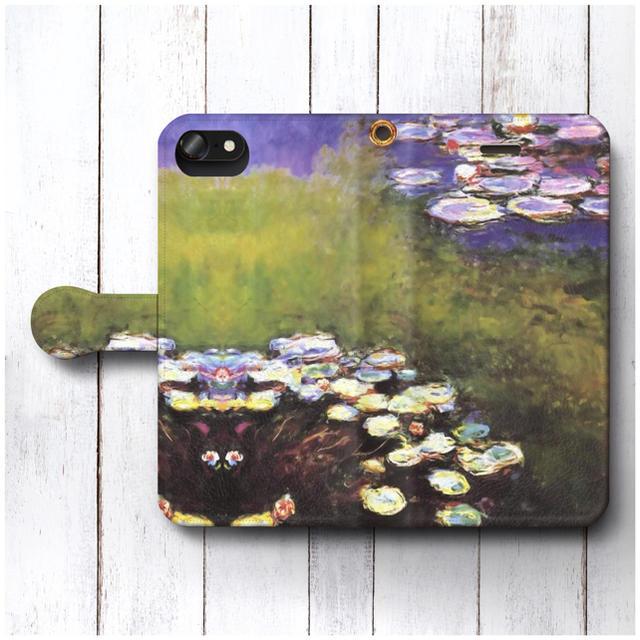iphone x ケース fendi - スマホケース手帳型 クロードモネ 全機種対応 睡蓮の池 絵画の通販 by NatureMate's shop|ラクマ