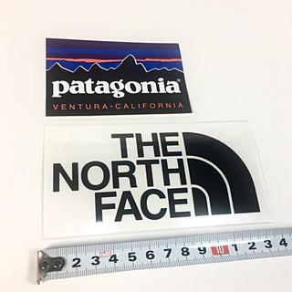 ザノースフェイス(THE NORTH FACE)のパタゴニア ノースフェイス ステッカー 2点 ⁑ ブラック !(その他)