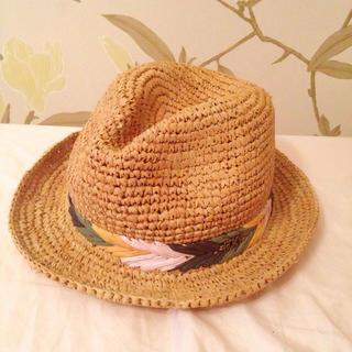 ロキシー(Roxy)のハワイ購入♡ROXY♡ストローハット(麦わら帽子/ストローハット)