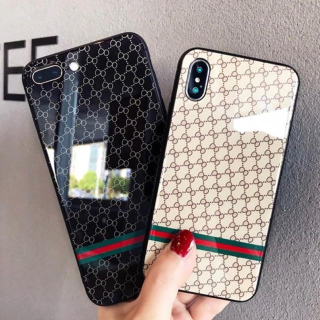 グッチ アイフォーンxs ケース 革製 、 大人気!モノグラム iPhoneケース ベージュの通販 by なんでもや's shop|ラクマ