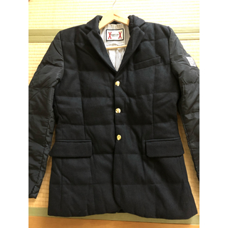 モンクレール(MONCLER)のMoncler gamme bleu ダウン テーラードジャケット モンクレール(テーラードジャケット)