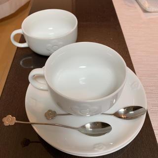 マリークワント(MARY QUANT)のマリークワント ティーカップセット&スプーン(食器)