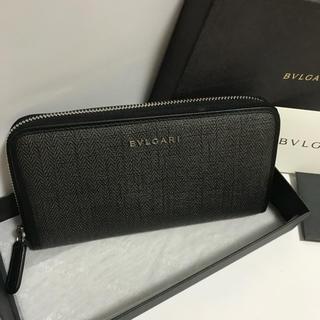 75bfe5a19aa7 ブルガリ(BVLGARI)のBVLGARI ブルガリ ウィークエンド ラウンドファスナー 長財布 超極美品