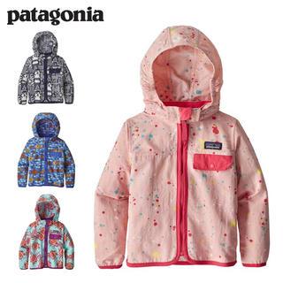 パタゴニア(patagonia)のパタゴニア patagonia ナイロン ジャケット キッズ 新品 12-18M(ジャケット/上着)