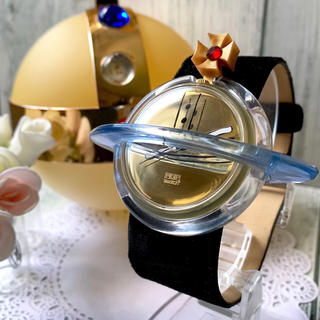 ヴィヴィアンウエストウッド(Vivienne Westwood)の【電池交換済】 vivienne × swatch スウォッチ オーブ 1993(腕時計(アナログ))