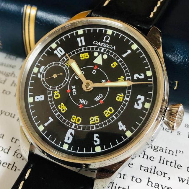 OMEGA - ★動作良好!オメガ  ミリタリーパイロット 腕時計 手巻き メンズの通販 by sa's shop|オメガならラクマ