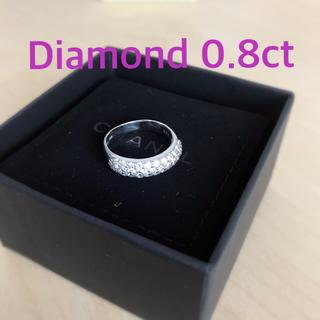 ポンテヴェキオ(PonteVecchio)のポンテヴェッキオ 0.8ct ダイアモンドパヴェリング ギャランティカードあり(リング(指輪))