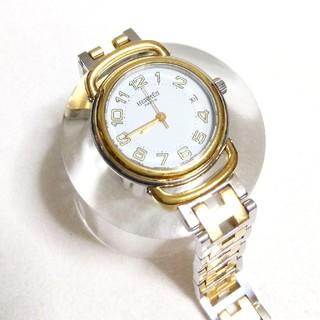 newest 8dcef 78812 専用です美品 エルメス レディース腕時計 ブレスレット 18kベゼル