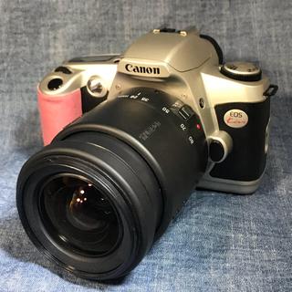 キヤノン(Canon)のキヤノン NEW EOS Kiss+タムロン28-80mm AF お気楽セット(フィルムカメラ)