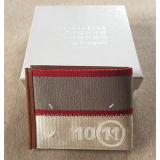 マルタンマルジェラ(Maison Martin Margiela)の18SS新品 マルジェラ カレンダーロゴ 折り財布(折り財布)