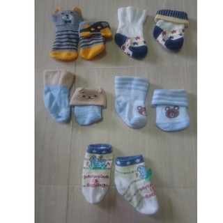 ニシマツヤ(西松屋)の新生児用靴下 5足(靴下/タイツ)