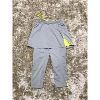 ユニクロ(UNIQLO)のユニクロパンツスカート付き(トレーニング用品)