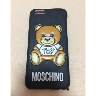 af2ec15e3f モスキーノ シリコン iPhoneケースの通販 100点以上   MOSCHINOのスマホ ...