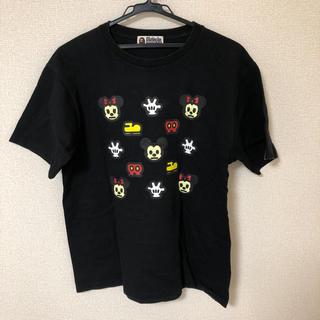 アベイシングエイプ(A BATHING APE)の【Sサイズ相当】BAPE x Disney Tシャツ(Tシャツ/カットソー(半袖/袖なし))