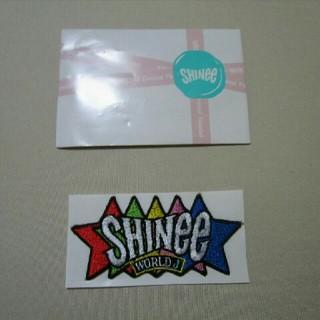シャイニー(SHINee)のSHINee ペンミ ワッペン FCVer.(K-POP/アジア)