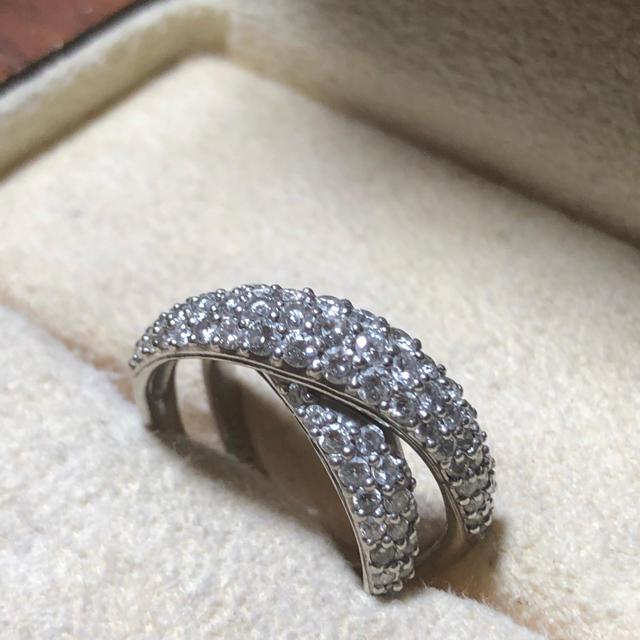 PonteVecchio(ポンテヴェキオ)の連休値下 美品 ポンテヴェキオ ダイヤ パヴェ リング レディースのアクセサリー(リング(指輪))の商品写真