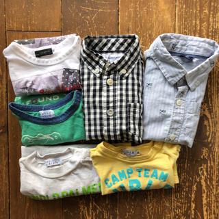 ミキハウス(mikihouse)のシャツ2枚 Tシャツ4枚 全て90サイズ Double-B HAKKA(Tシャツ/カットソー)